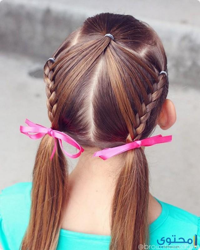 بالصور تسريحات شعر بسيطة , اجمل واشيك تسريحة شعر 288 8
