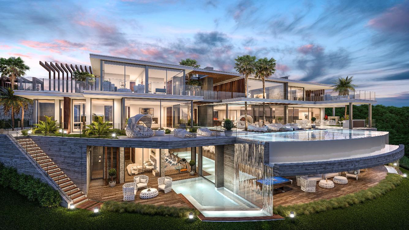 بالصور منزل فخم , اجمل استايلات المنازل الحديثة 3452 1