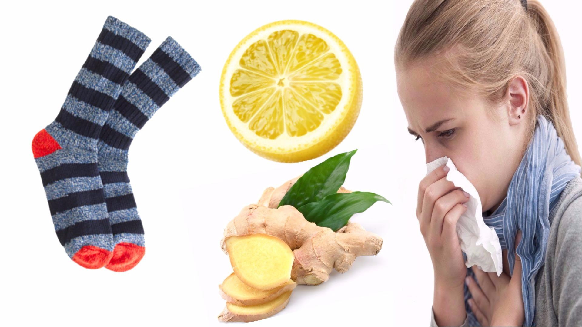 صورة نزلات البرد , علاج الانفلونزا بالطرق الطبيعية