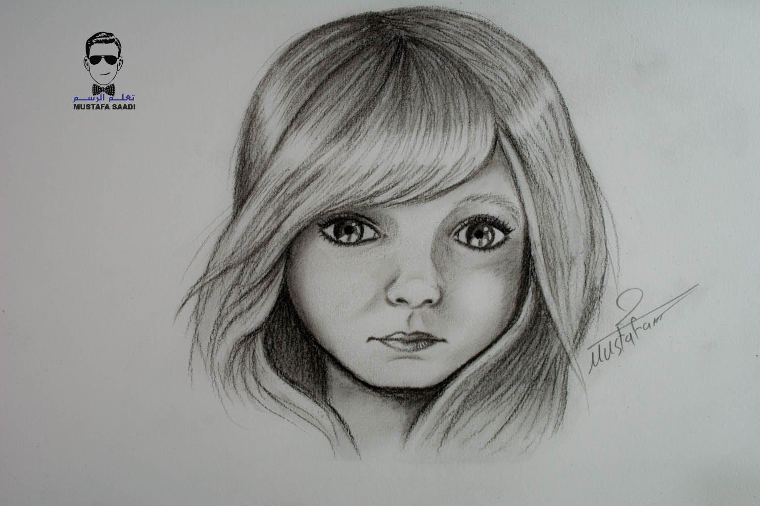 بالصور رسومات بنات جميلة , اجمل صور مرسومة للبنات 4825 8