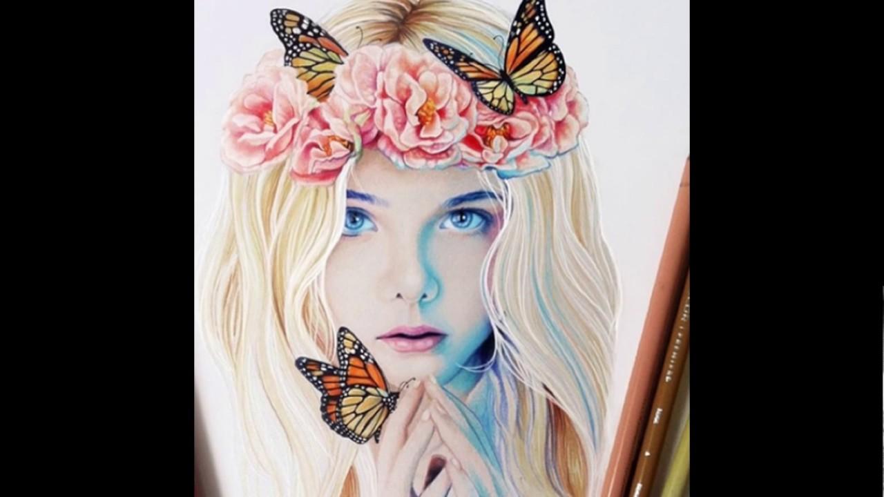 بالصور رسومات بنات جميلة , اجمل صور مرسومة للبنات 4825