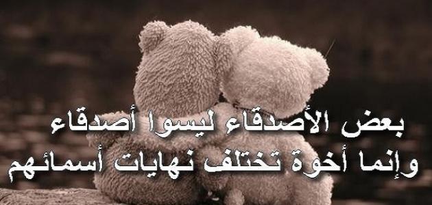 بالصور كلام جميل للاصدقاء , عبر عن حبك لصديقك بهذه الكلمات 4877 3
