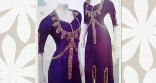 بالصور احدث موديلات قنادر الصيف الجزائرية , ملابس جزائرية جميلة 607 13 310x165