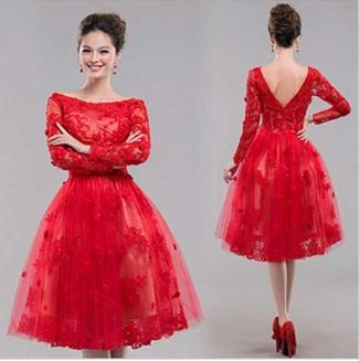 97b345f9b صور فساتين سهرة قصيرة , فستان جميل للسهرة - بنات كول