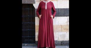 صور موديلات حجابات جزائرية مخيطة , اجمل تصاميم للحجاب الجزائري