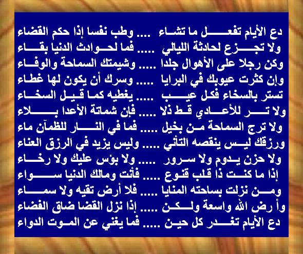 بالصور شعر عن الدنيا , كلمات معبرة في وصف الدنيا 4890