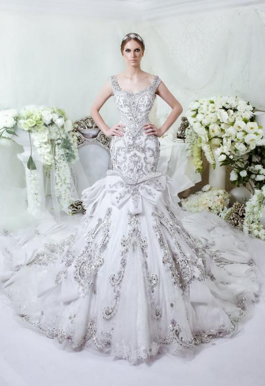 صورة فساتين عرايس فخمه , ابهري الجميع بفستانك يوم زفافك