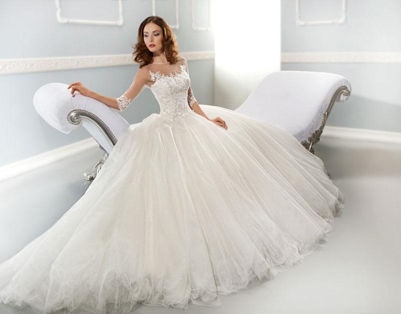 بالصور فساتين عرايس فخمه , ابهري الجميع بفستانك يوم زفافك 4953 10
