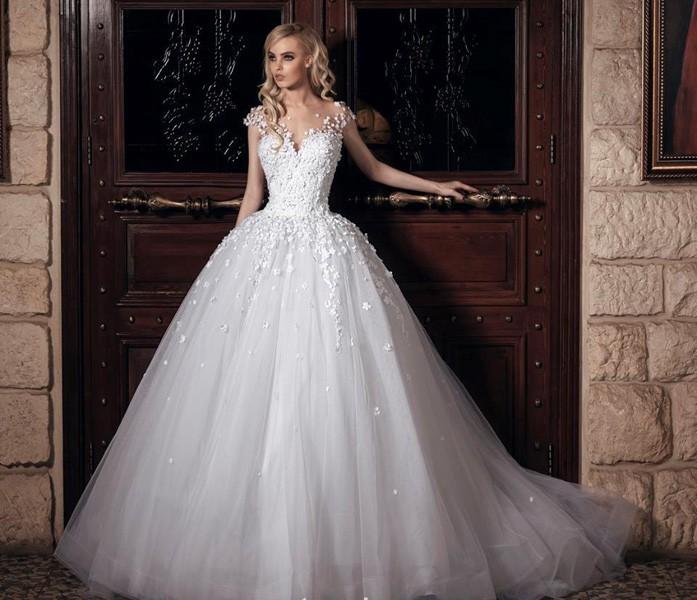 بالصور فساتين عرايس فخمه , ابهري الجميع بفستانك يوم زفافك 4953 12