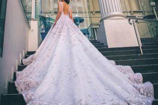 صوره فساتين عرايس فخمه , ابهري الجميع بفستانك يوم زفافك