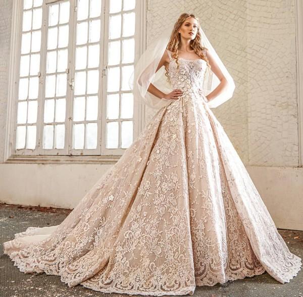 بالصور فساتين عرايس فخمه , ابهري الجميع بفستانك يوم زفافك 4953 3