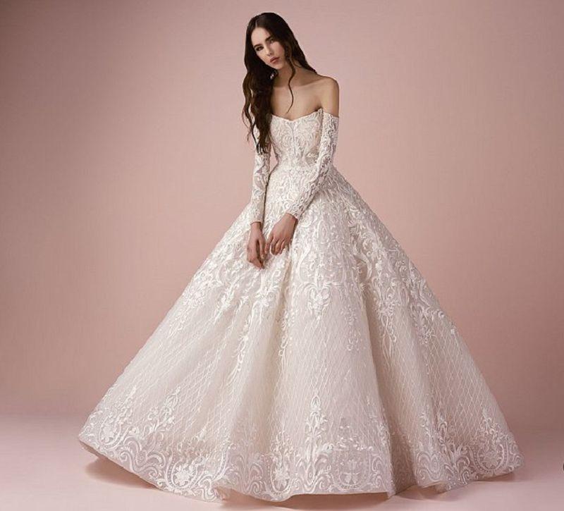 بالصور فساتين عرايس فخمه , ابهري الجميع بفستانك يوم زفافك 4953 6