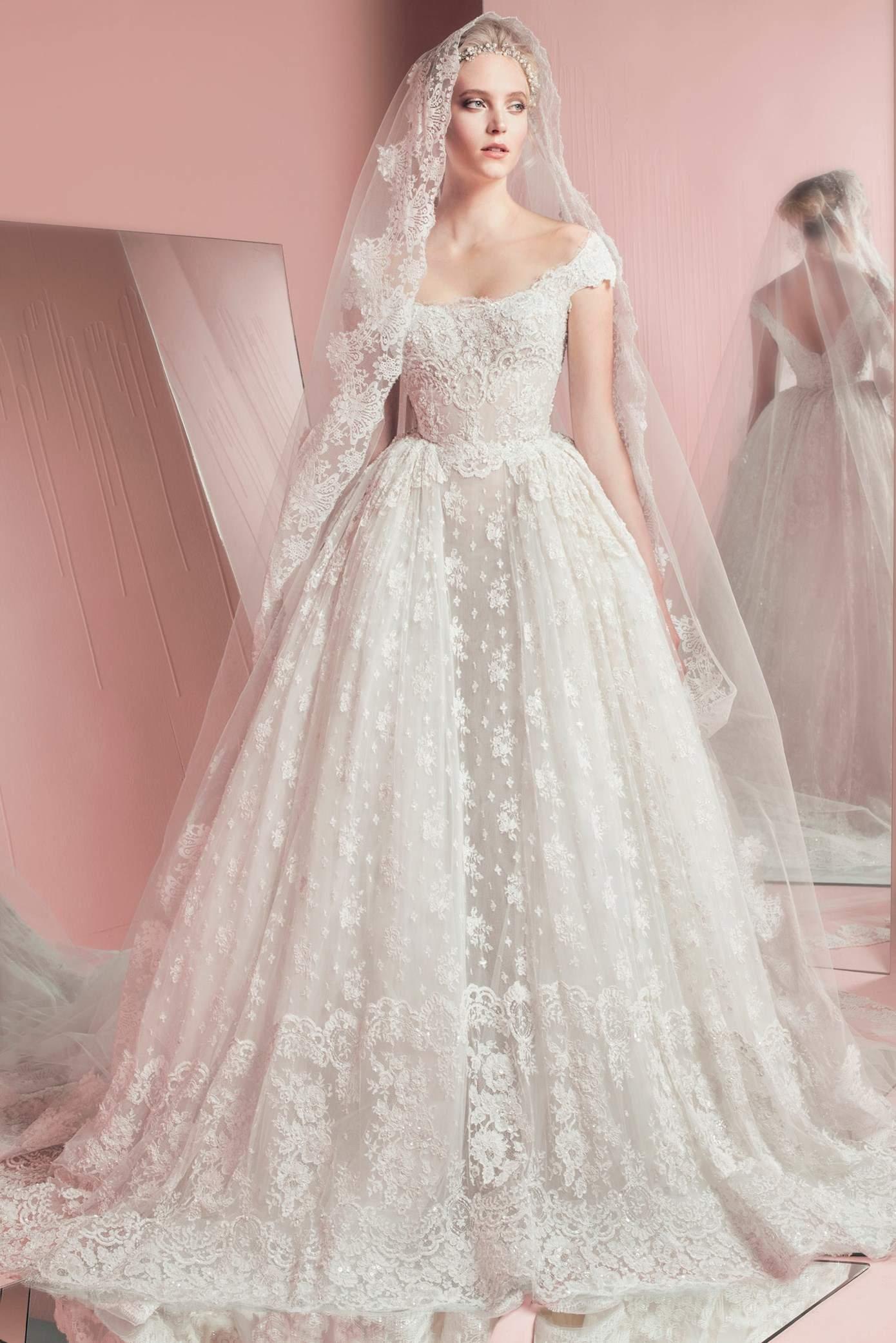 بالصور فساتين عرايس فخمه , ابهري الجميع بفستانك يوم زفافك 4953 7