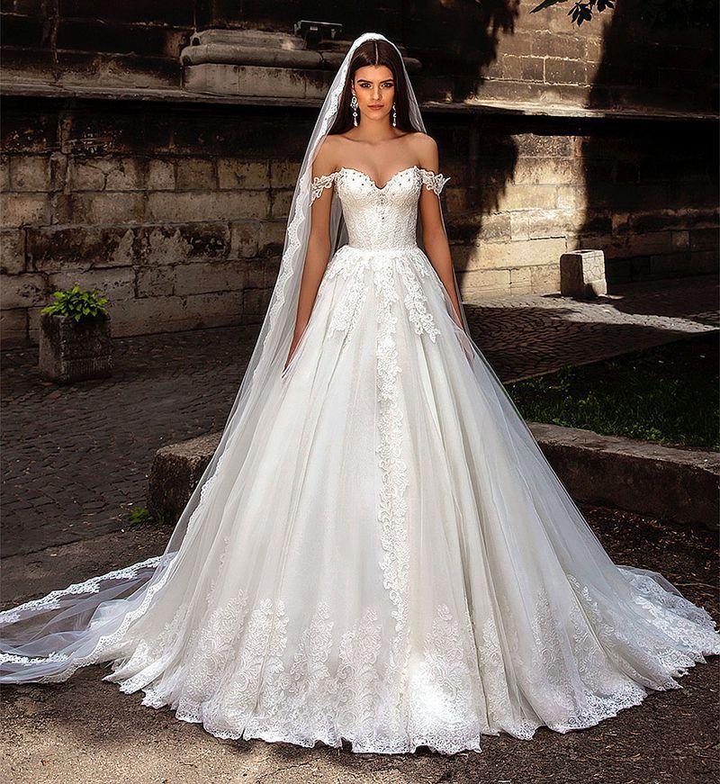 بالصور فساتين عرايس فخمه , ابهري الجميع بفستانك يوم زفافك 4953 8