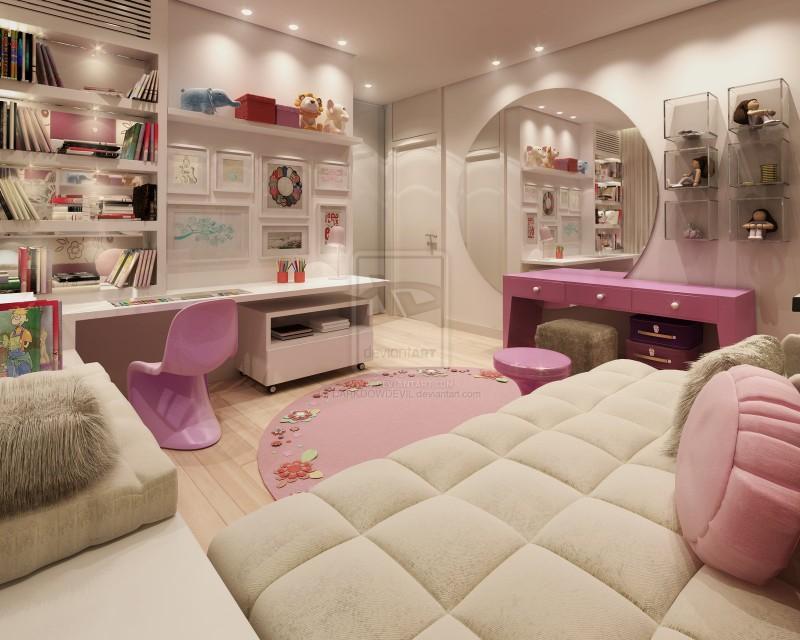 بالصور غرف بنات كبار , اجمل غرف تناسب البنات 4972 9