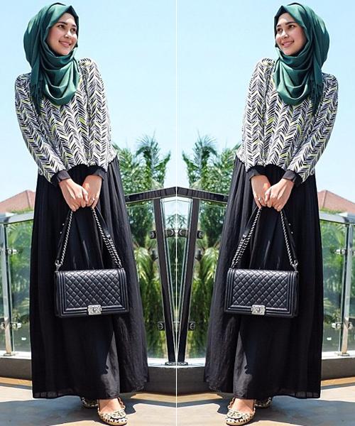 بالصور اشيك ملابس محجبات , اكتسبي اطلالة جذابة بحجابك 5109 1