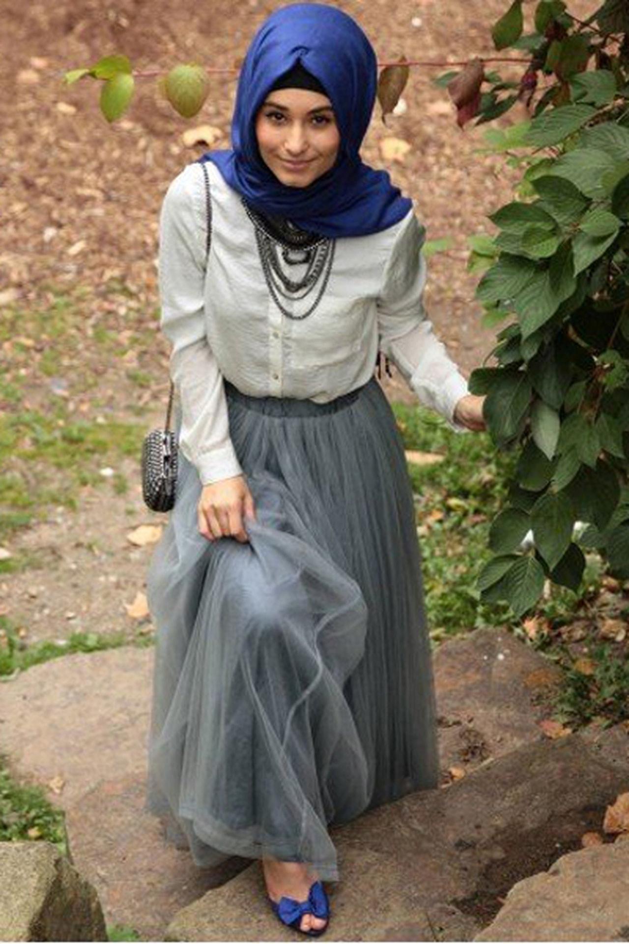 بالصور اشيك ملابس محجبات , اكتسبي اطلالة جذابة بحجابك 5109 10