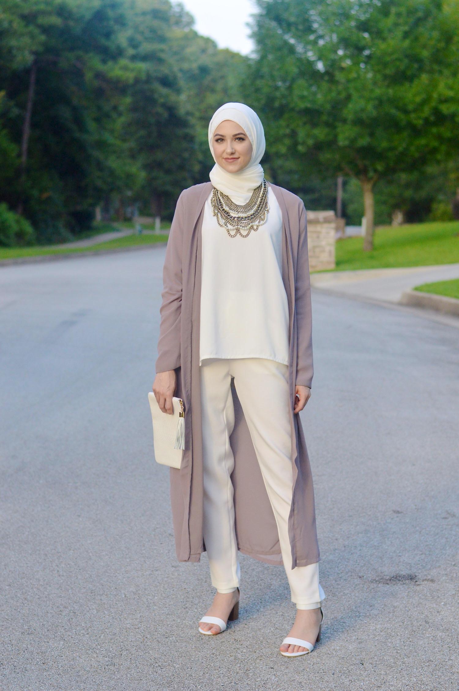بالصور اشيك ملابس محجبات , اكتسبي اطلالة جذابة بحجابك 5109 9