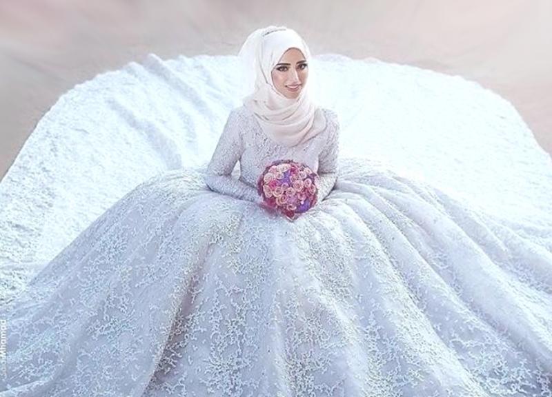 بالصور صور عروسة , اجمل طلات لعرائس في حفل زفافهن 5111 5