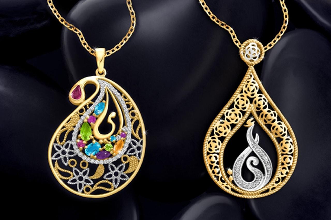 صوره مجوهرات داماس , اجمل اشكال موديلات داماس
