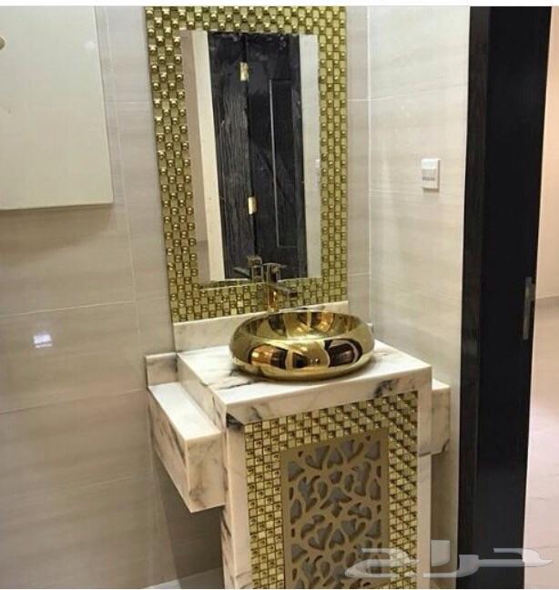 بالصور مغاسل رخام مودرن , تصاميم عصريه لمغاسل الرخام 1782 3