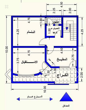 خرائط منازل , تصاميم بيوت و فلل - بنات كول
