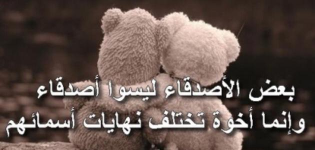 بالصور شعر عن الصديقة , كلام عن الصداقه 4665 4