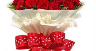 بالصور بوكيه ورد احمر , ورود رومانسيه جميله 4691 11 310x165