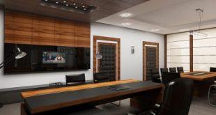 ديكورات مكاتب , تصاميم مكاتب مودرن