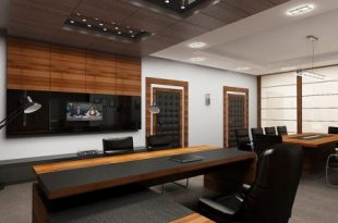 صورة ديكورات مكاتب , تصاميم مكاتب مودرن