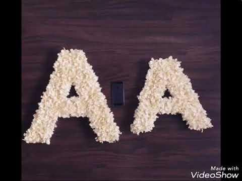 صور اجمل صور حرف a , اجمل الحروف اللاتينيه