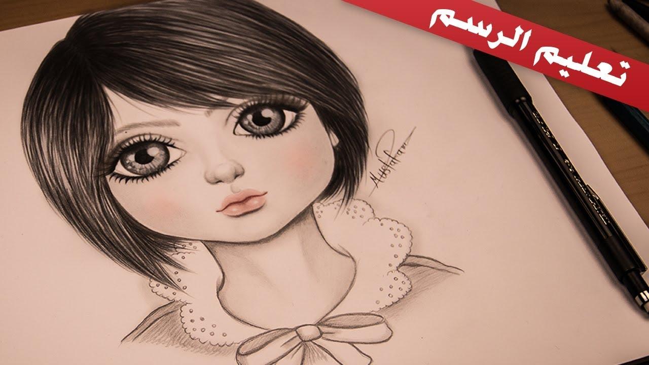 صورة بنات رسم , رسومات فنيه رائعه