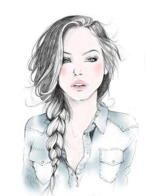 بالصور بنات رسم , رسومات فنيه رائعه 5453 10