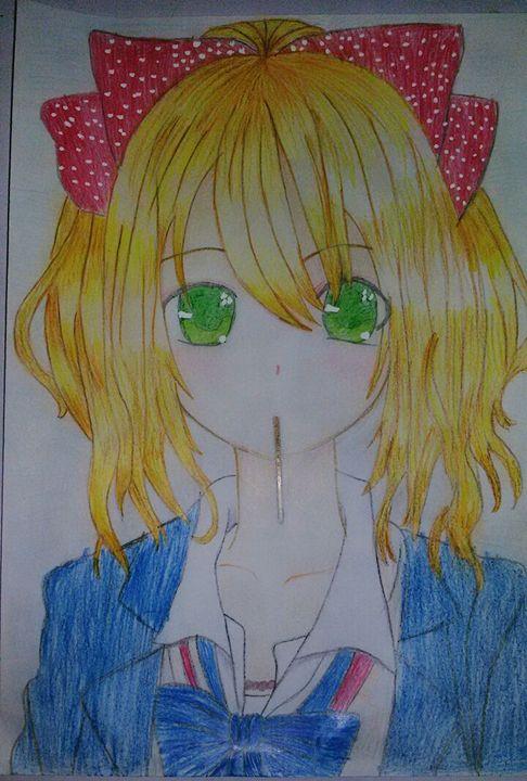 بالصور رسم انمي , رسوم كرتونيه انمي 6102 7