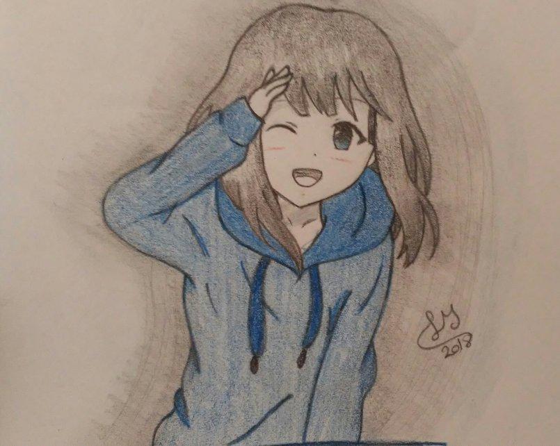 بالصور رسم انمي , رسوم كرتونيه انمي 6102 8