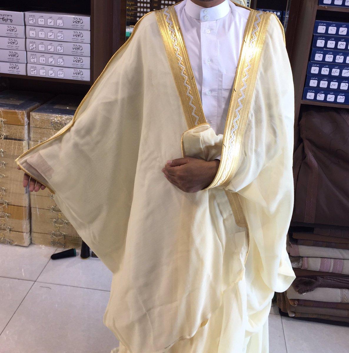 صوره طريقة لبس البشت , زي الخليج المميز