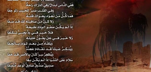 بالصور بيت شعر عن الصديق الغالي , اجمل القصائد عن الصداقه 6445 2