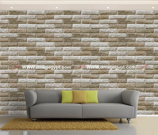 بالصور ورق جدران حجر , اجمل اشكال ورق الحائط 6474 8