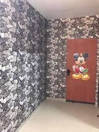 بالصور ورق جدران حجر , اجمل اشكال ورق الحائط 6474 9