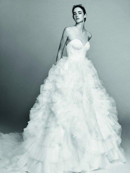 بالصور صور فساتين اعراس , فساتين زفاف مميزه 6536 8