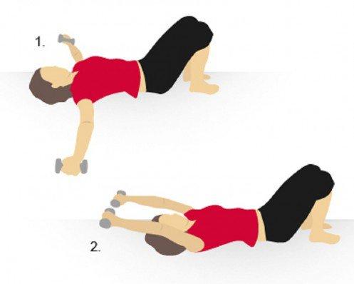 بالصور تكبير الصدر بالرياضة , اسهل التمارين لتكبير حجم الصدر 12362 4