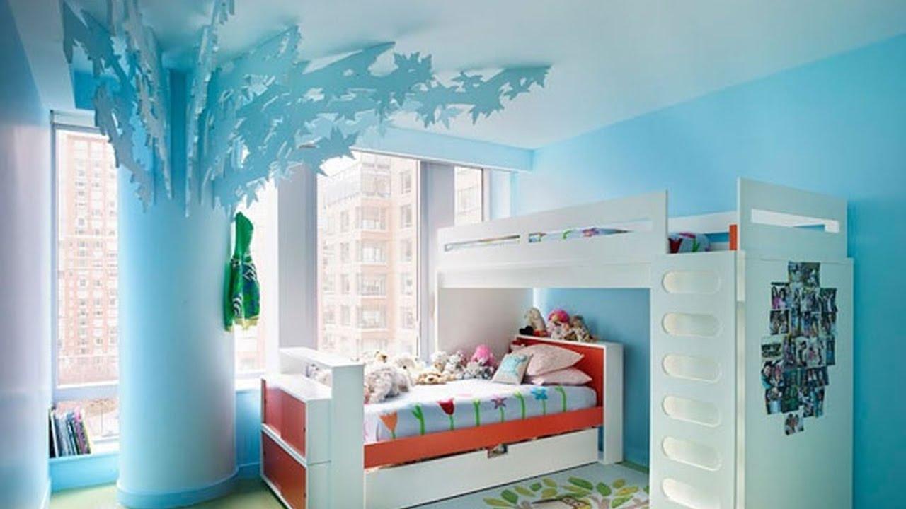 صور ديكورات غرف النوم صغيرة , احدث صيحات غرف الاطفال الصغيره
