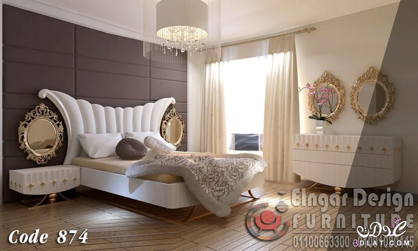 صور احدث موديلات لغرف النوم , دكورات جديدة لغرف النوم