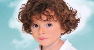 صور بالصور قصات شعر اطفال , موضة الاسبايكي للشعر