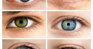 صورة كيفية تغيير لون العين , الاساس الذي يميز تغير العين