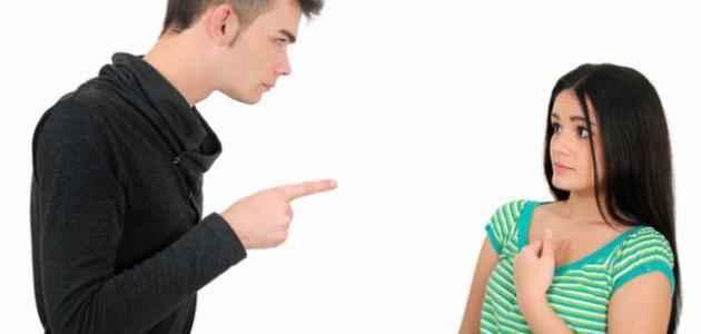 صورة التعامل مع الزوجة العنيدة , المناقشة اهم الاساليب