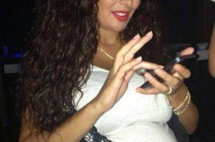 صورة كندا حنا حامل , النجوم السوريين فالحمل