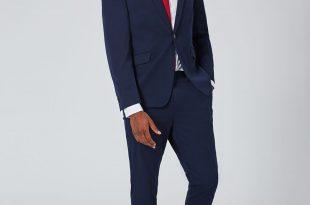 صورة بدلة رسمية رجالية لون كحلي , الساعه جزء مهم مع البدلة