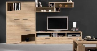 صور ديكور تلفزيون خشب , الخشب هو موضة العام 2019