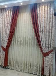 صورة ستائر غرفة الضيوف , تساعد الستائر فى استكمال الديكور